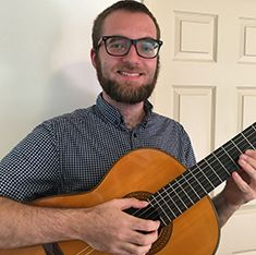 Cory Cogley - Guitar, Bass, Violin, Piano, and Voice Instructor