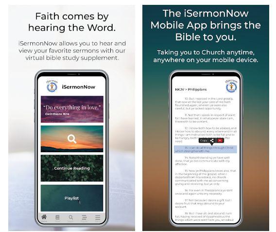 ISermonNow Mobile App
