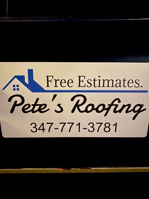 Avatar for Pete's Roofing