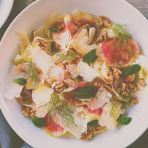 Fennel Salad with Watermelon Radishes and Mint