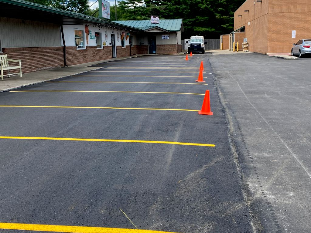 Repaving parking lot
