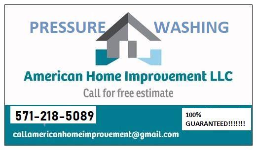 American Home Improvement LLC Pressure Washing