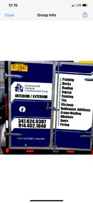 Avatar for Continental General Construction corp