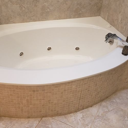 Jacuzzi Tub After