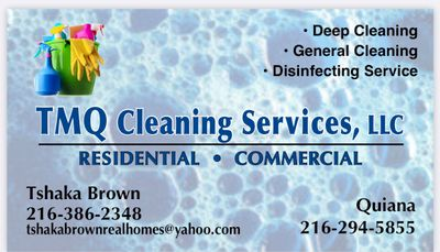 Avatar for TMQ Cleaning Services LLC