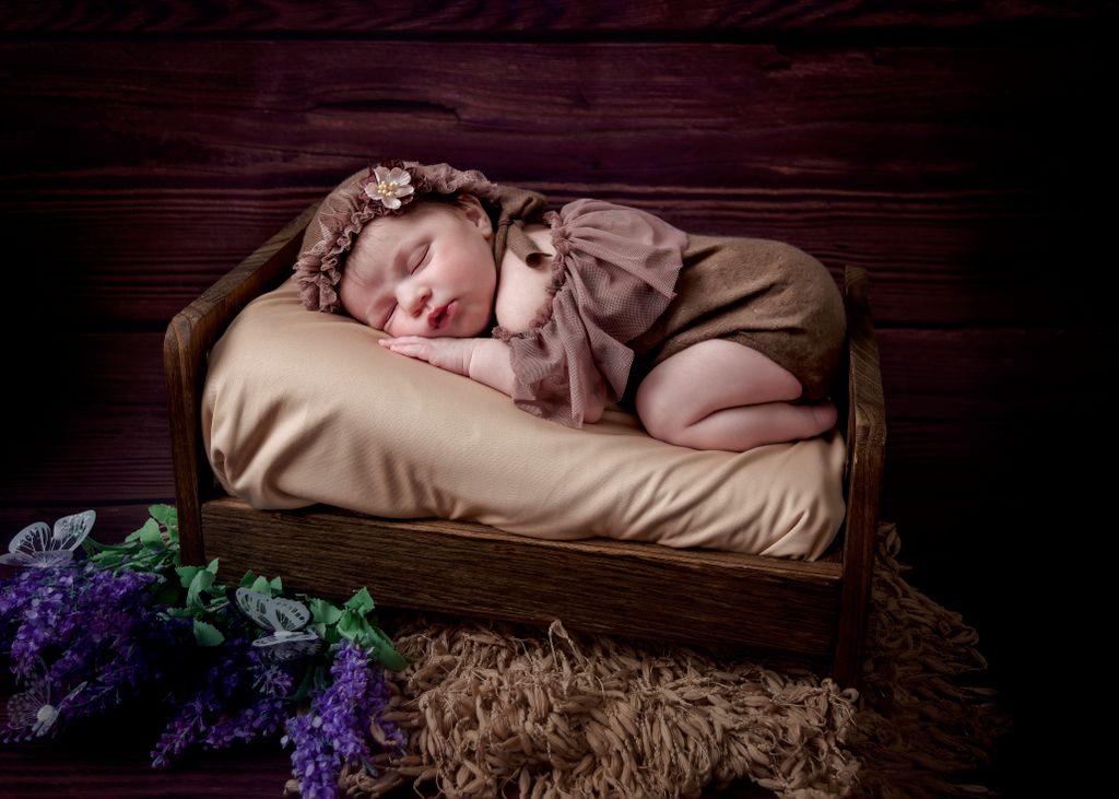 Baby Emmy Rose newborn session