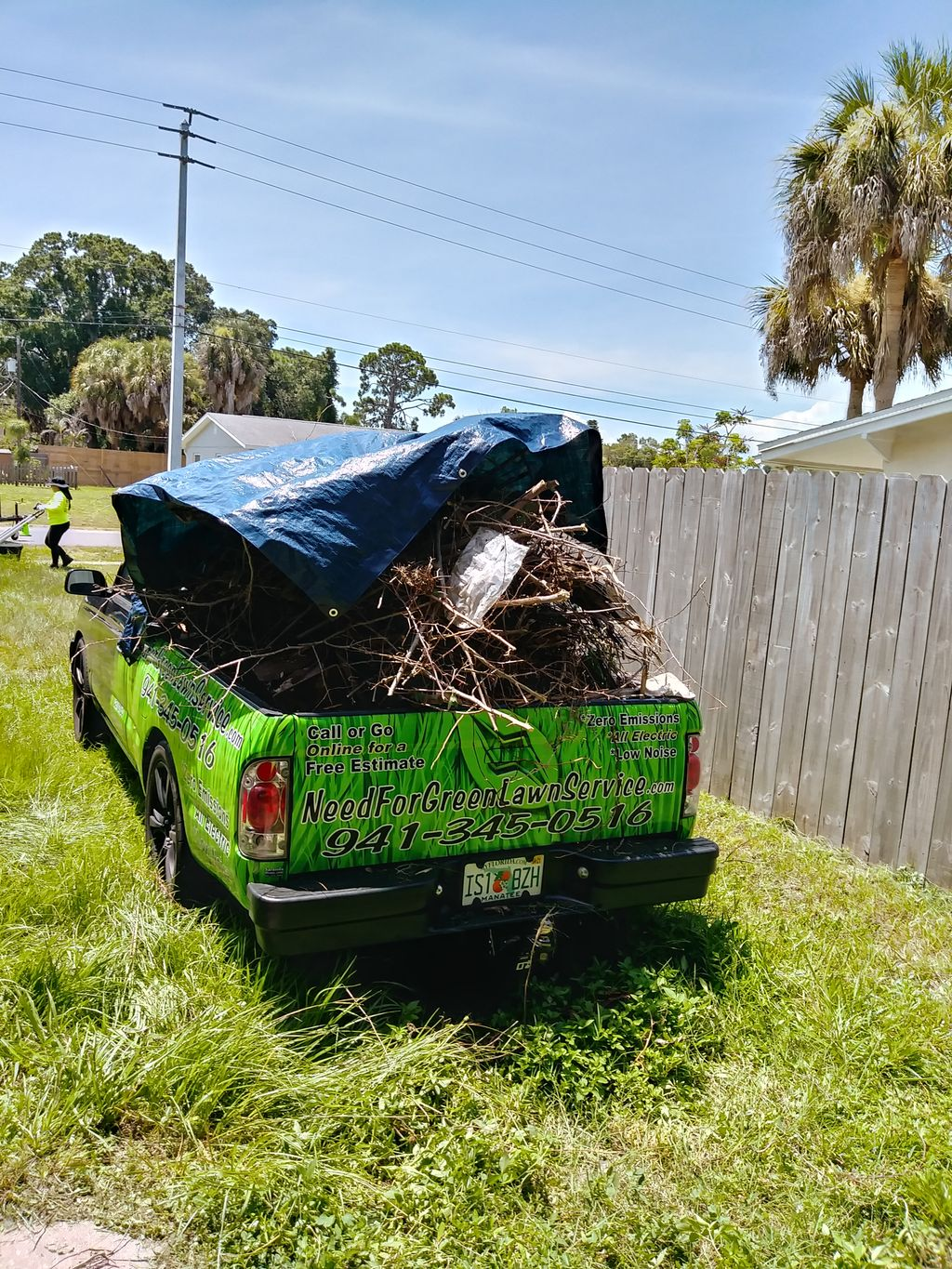Recent Yard Waste Removal