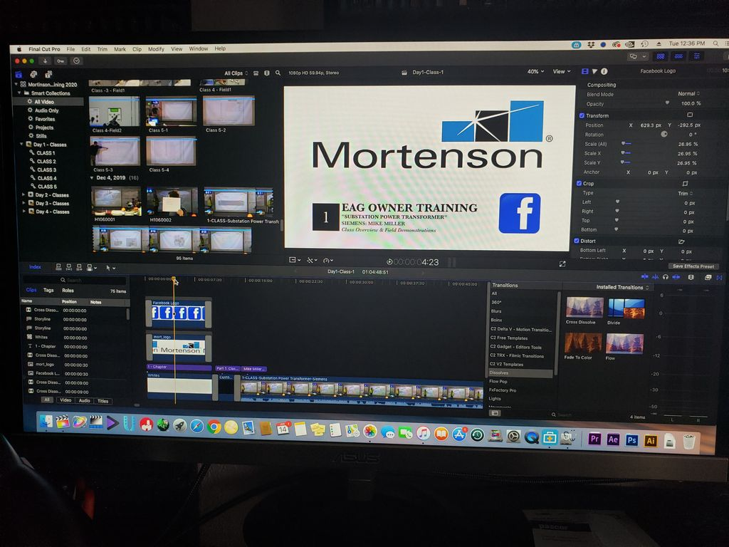 Facebook-Mortenson Construction