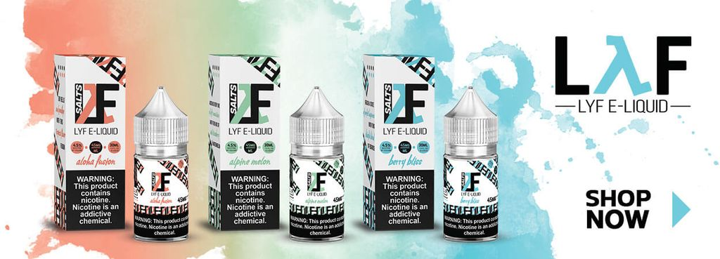 LYF Vape Supply banner ads