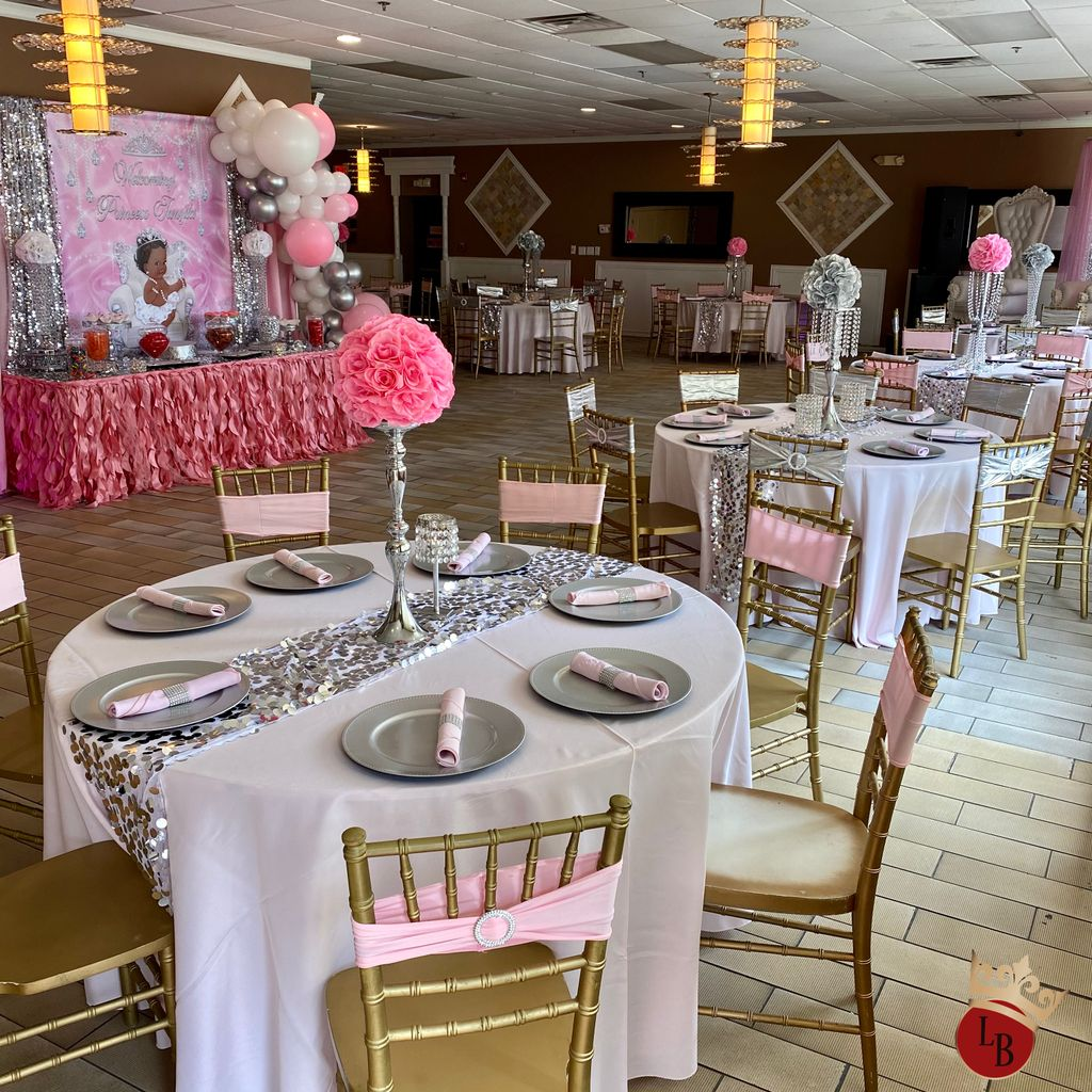 Bling Princess Baby Shower