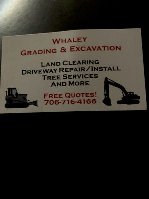 Avatar for Whaley Grading & Excavation
