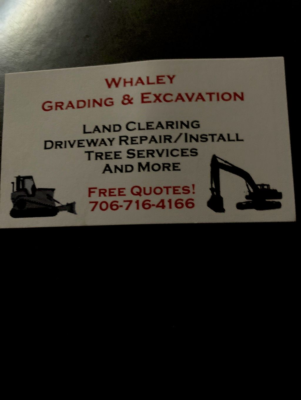 Whaley Grading & Excavation