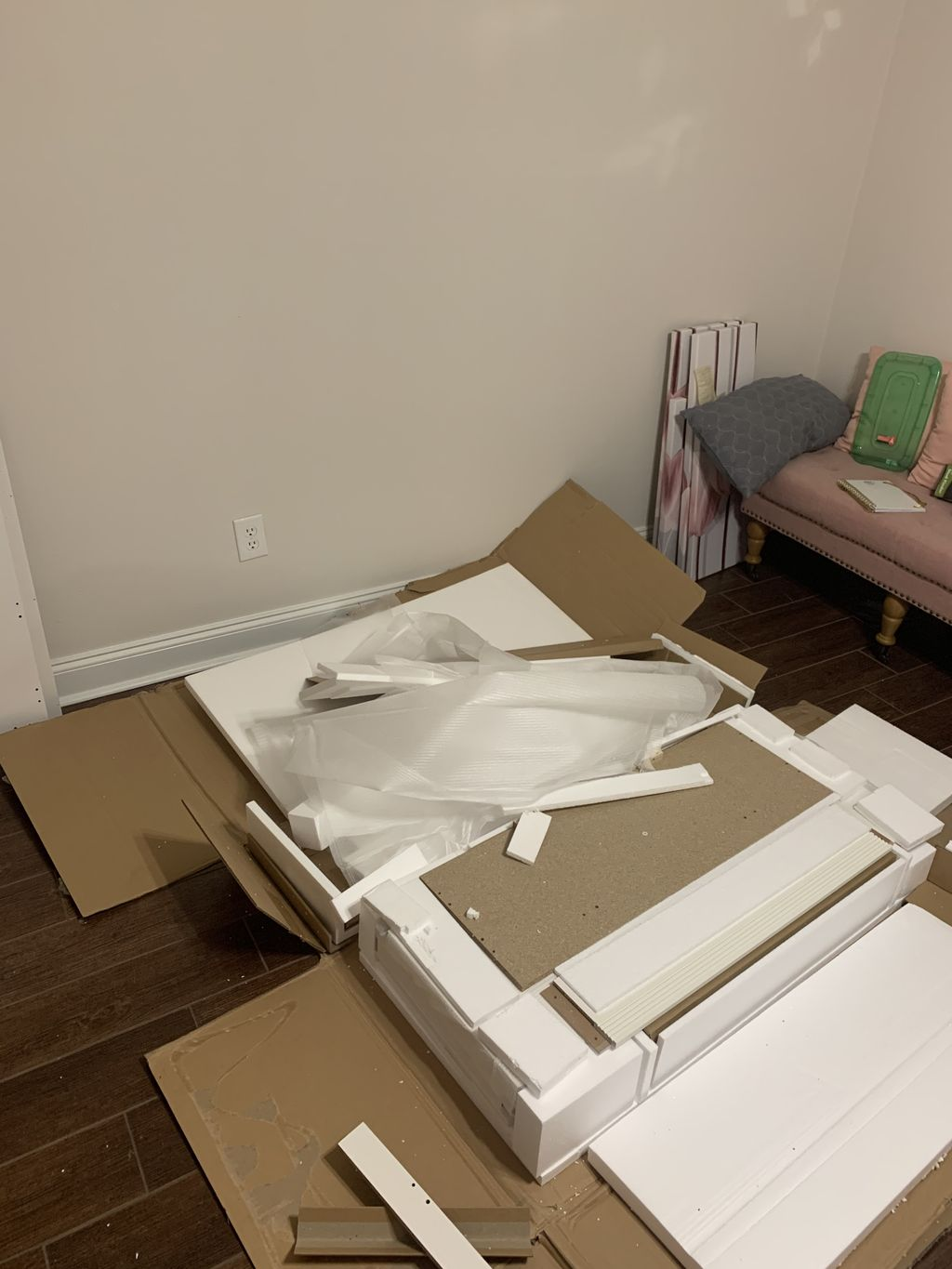Furniture Assembly and TV mount