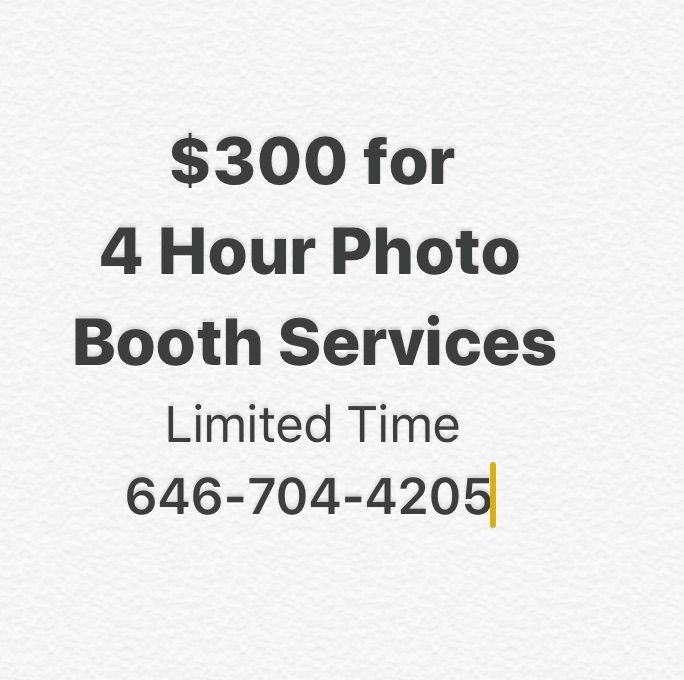 100/HR/PhotoBooth+DJ SERVICES