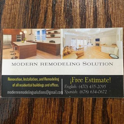 Avatar for Modern Remodeling Solutions
