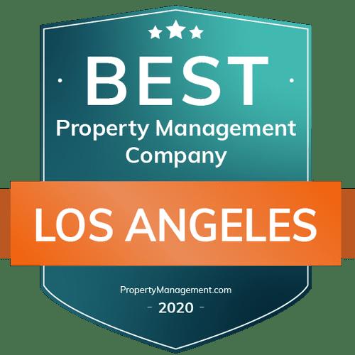 We won 2020 best property management company by propertymanagement.com