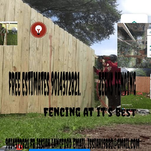 Zeeks fencing and lawn maintenance
