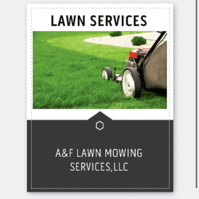 Avatar for A&F Lawn Mowing Services, LLC