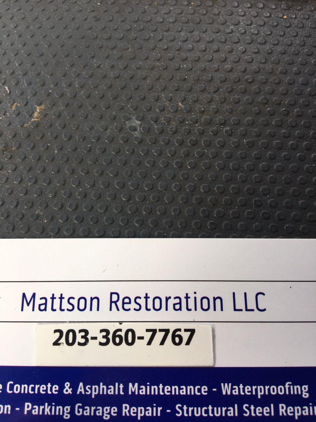 Mattson Restoration LLC