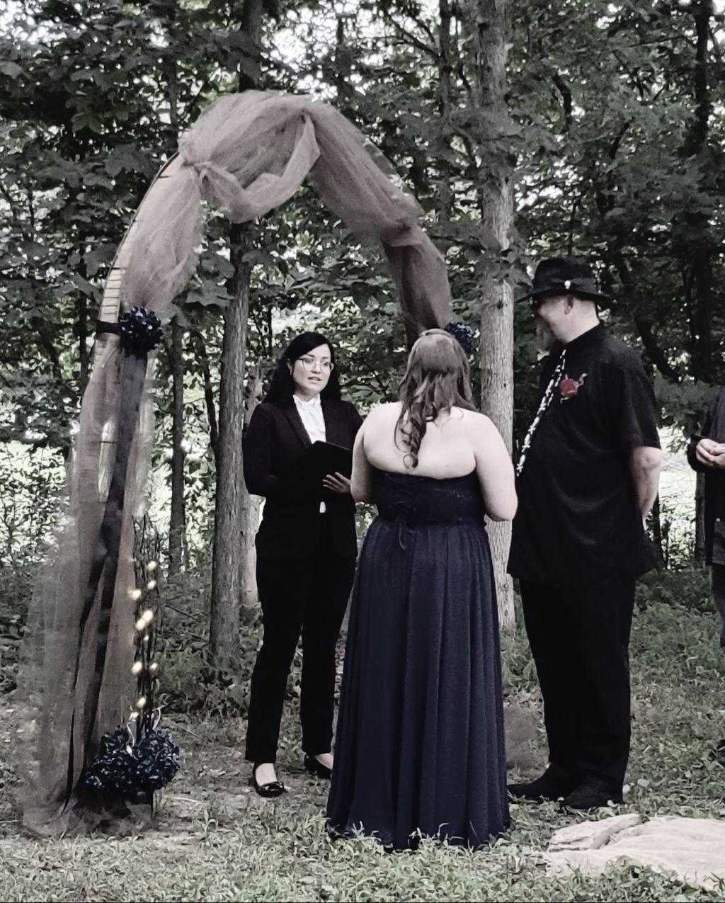Amanda and John wedding