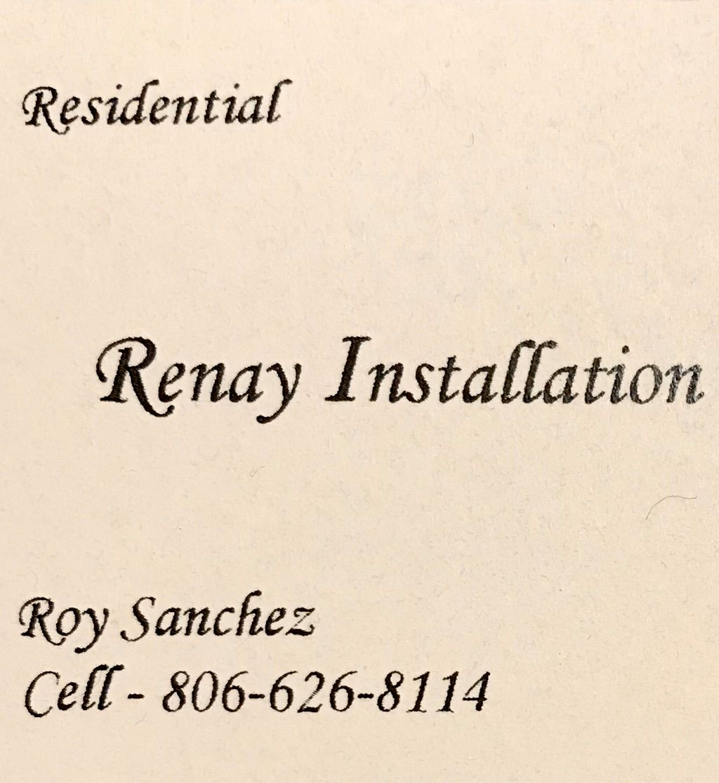 Renay Installation & Design Services