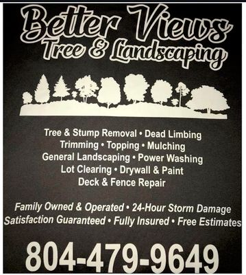 Avatar for Better Views Tree and Landscaping