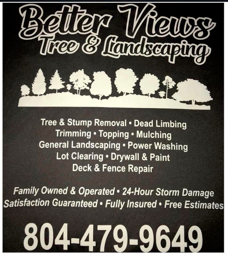 Better Views Tree and Landscaping