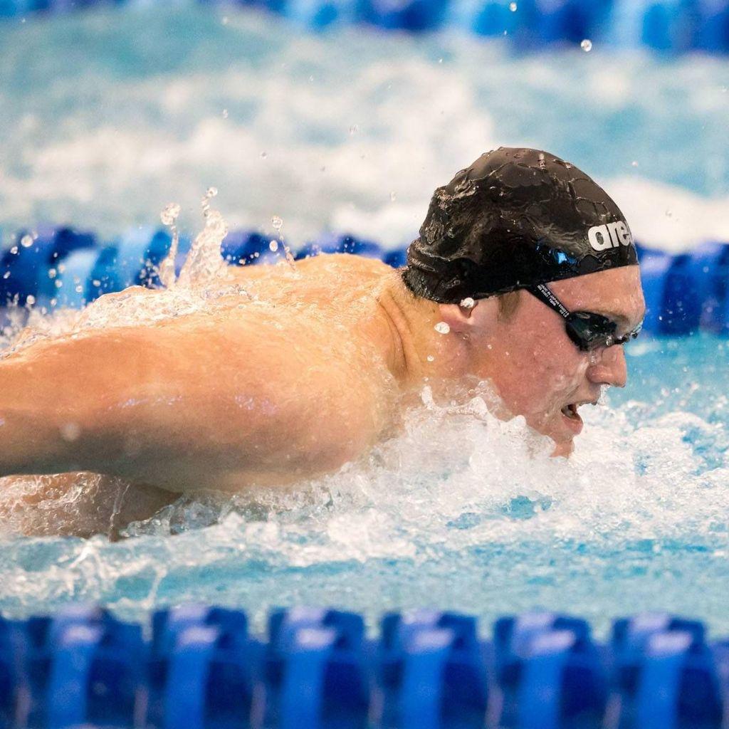 Bradley Cline Swimming
