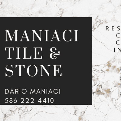 Avatar for Maniaci Tile and Stone LLC