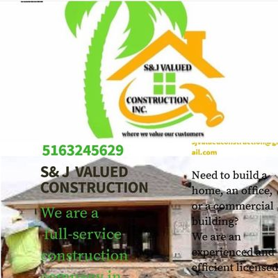 Avatar for S&J VALUED CONSTRUCTION INC.