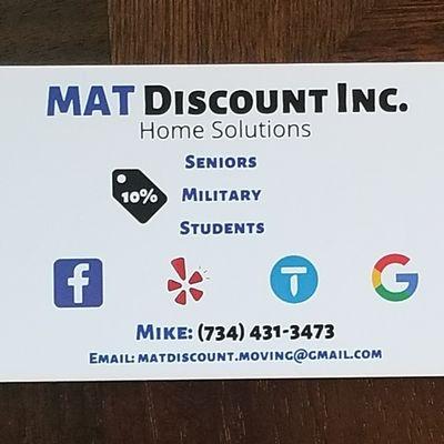 Avatar for MAT Discount Inc.