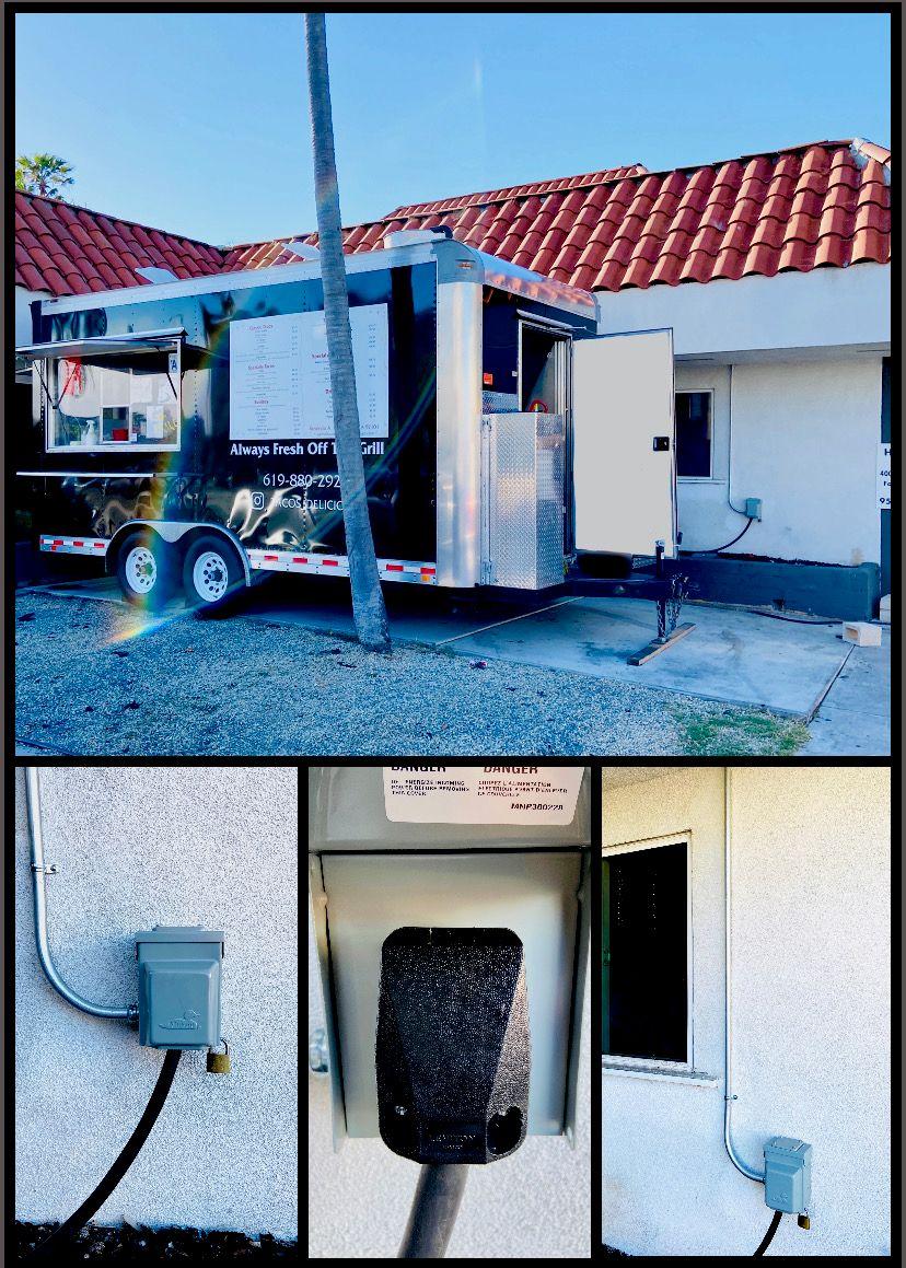 50A 240V Outlet Installation