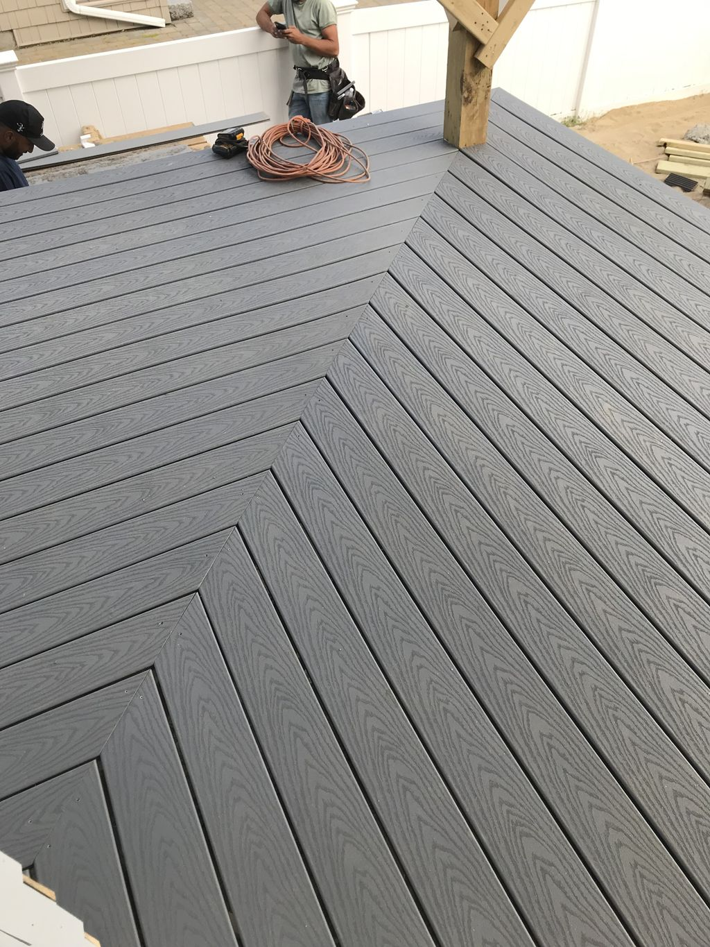 Compose deck renovation and sides