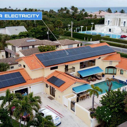 23KW Solar Electricity in Ocean Ridge, FL