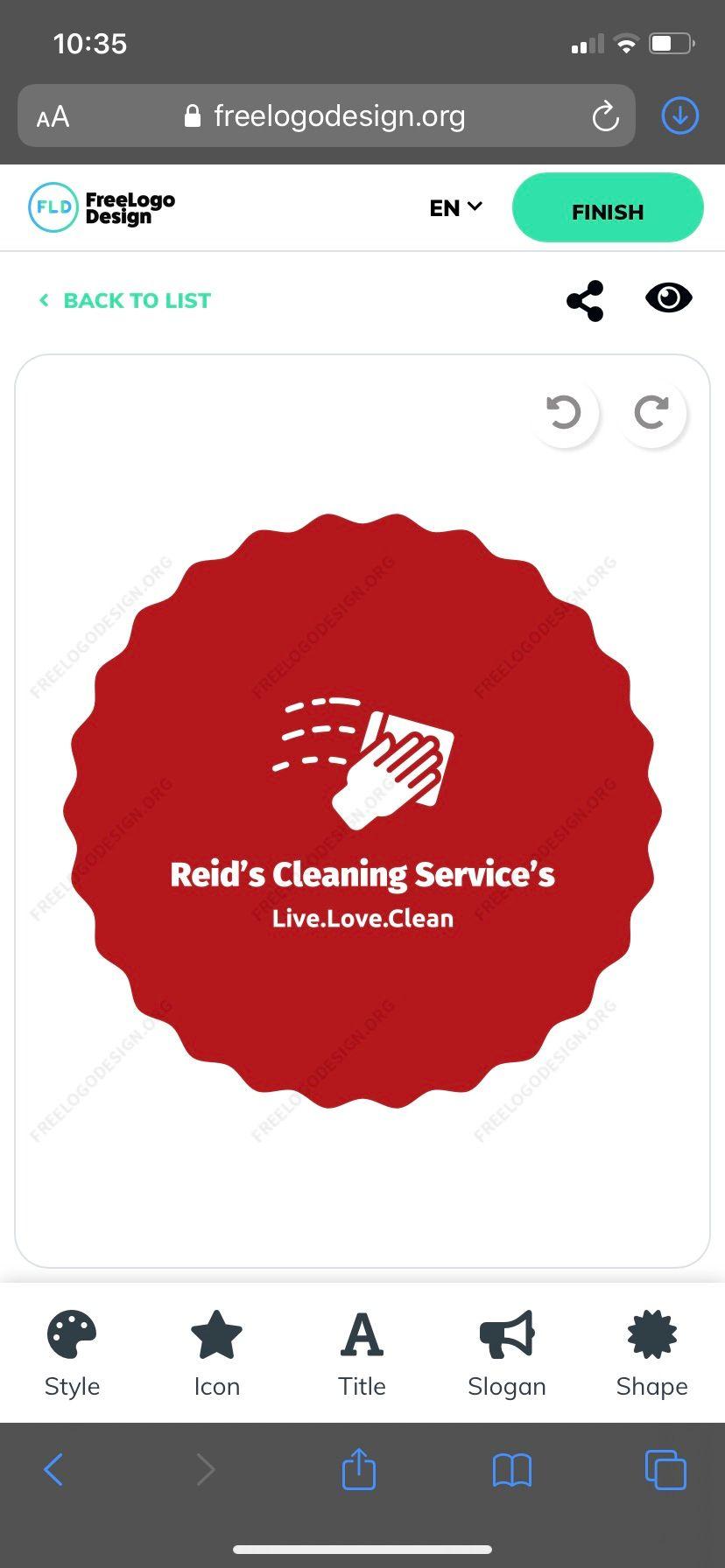 Reid's Cleaning