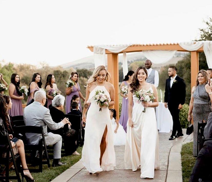 Outdoor Wedding - Hair and makeup