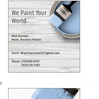 Avatar for We paint your world