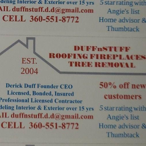 Duffnstuff Roofing & Fireplaces