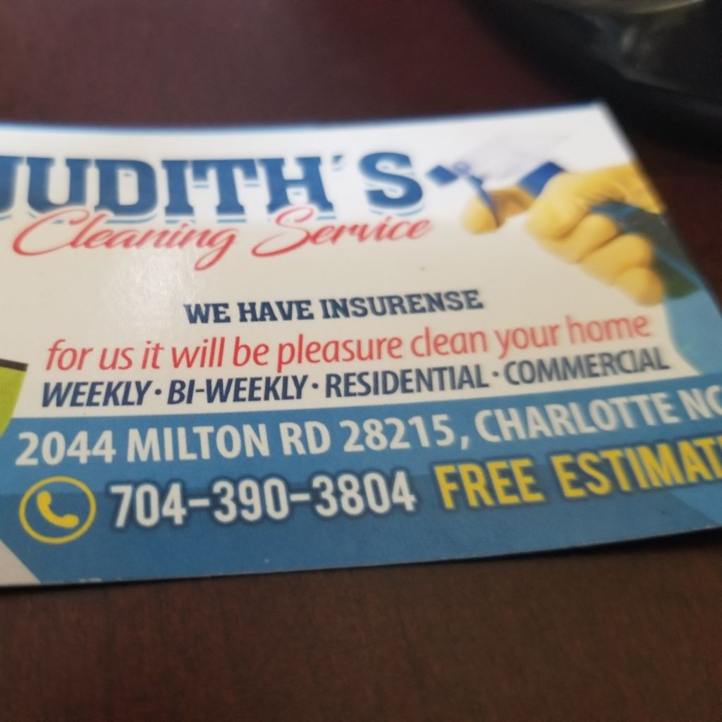 Judith'S Cleaning Services
