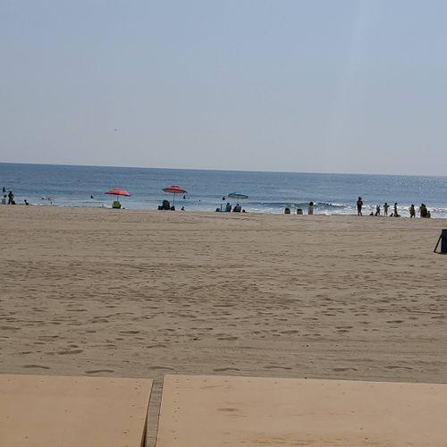 beach day with the clients @ Asbury park beach NJ
