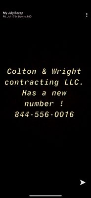 Avatar for Colton & Wright Contracting LLC