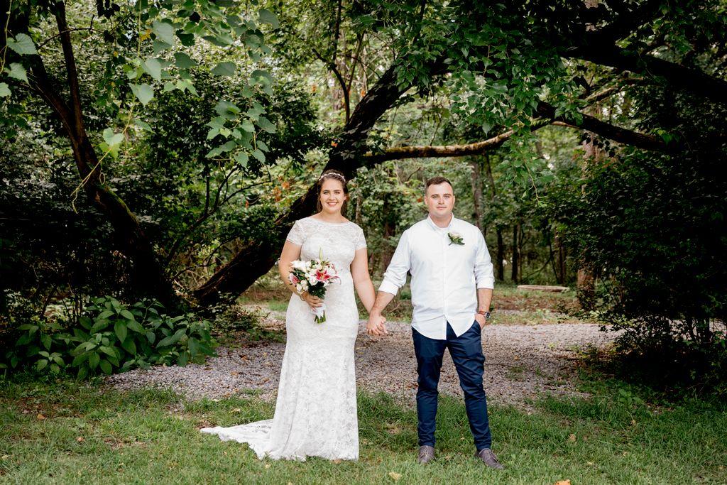 Wedding at Historic Rock Castle in Hendersonville, TN