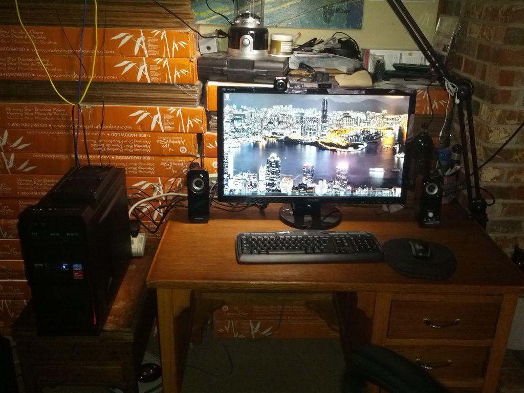 Custom Home Office Computer