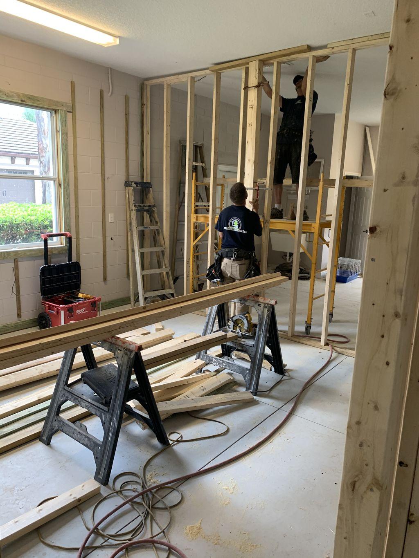 Garage Conversion into 2 Bedroom 1 Bathroom