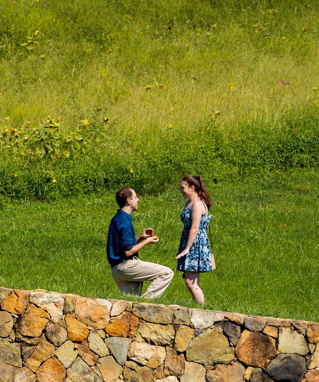 Surprise Engagement Photo Session