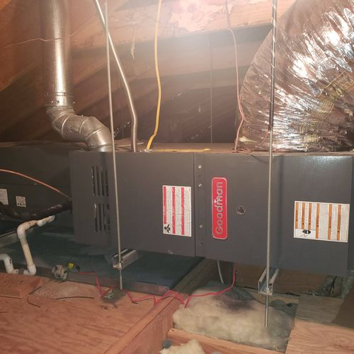 Hackensack forced air cool/heat replacement