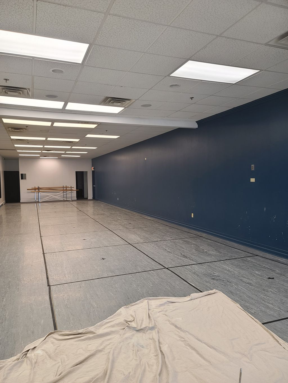 Dance Studio Interior Painting