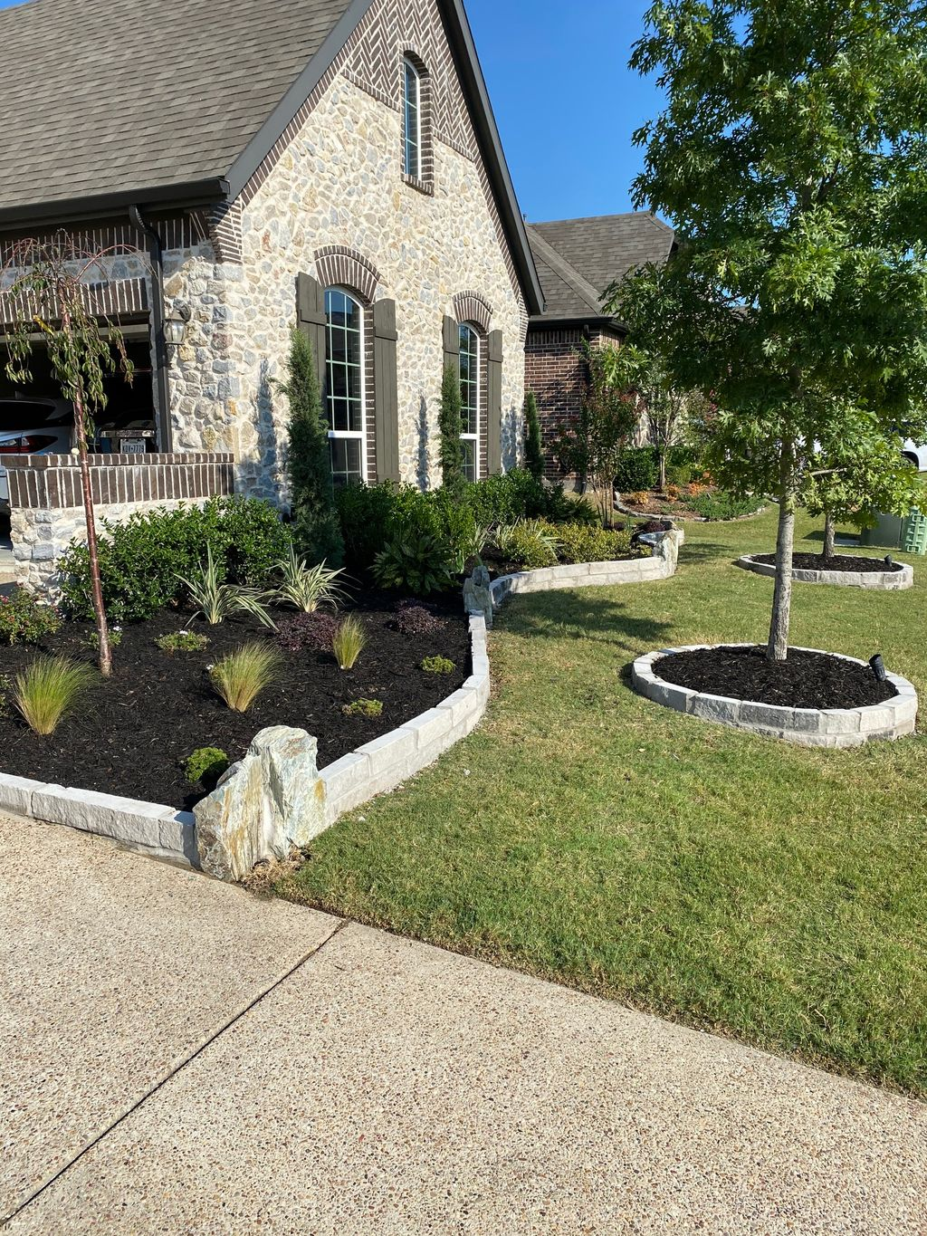 New Front Yard Landscaping