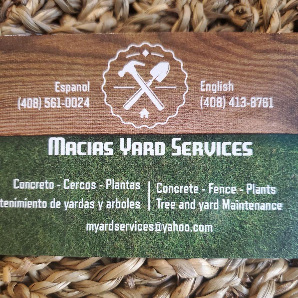 Macias Yard Services