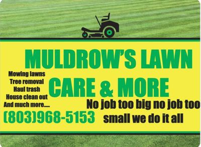 Avatar for MULDROW'S LAWN CARE & MORE